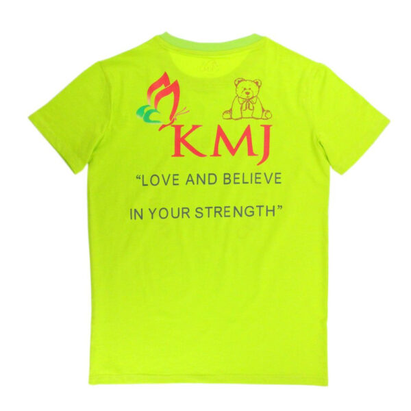 KMJS ADULT T SHIRT green 1