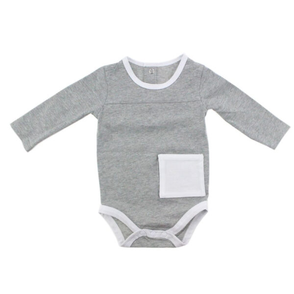 KMJS G TUBE BODYSUIT grey