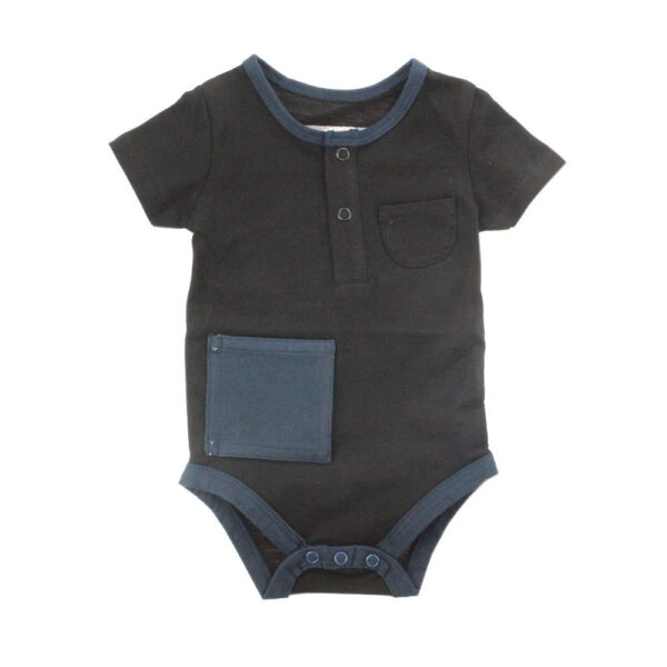 KMJS G TUBE  TRACHEA BODYSUIT black short sleeve