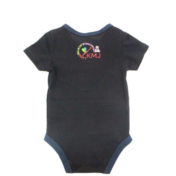 KMJS G TUBE  TRACHEA BODYSUIT black short sleeve 1