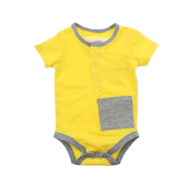 KMJS G TUBE  TRACHEA BODYSUIT sunshine yellow