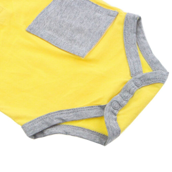 KMJS G TUBE  TRACHEA BODYSUIT sunshine yellow 1