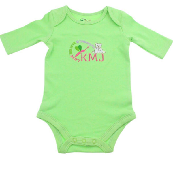 KMJS LONG SLEEVE BODYSUIT mintgreen