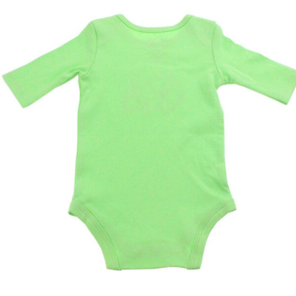 KMJS LONG SLEEVE BODYSUIT mintgreen 1
