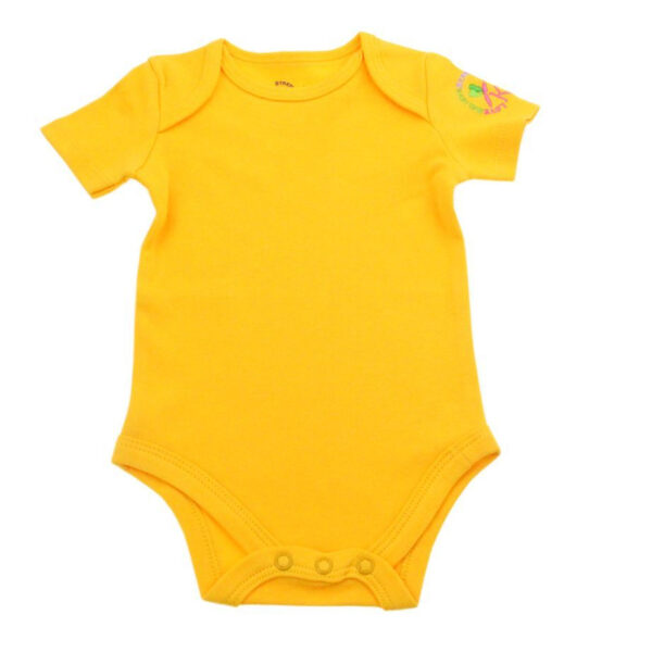 KMJS SHORT SLEEVE BODYSUIT sunshine yellow