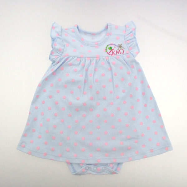 kmj polka dot dress